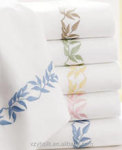 100% Egyptian cotton Sheets,Embroidery Bed Sheet,Bedding Set