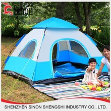 3 - 4 person luxury family Outdoor waterproof portable camping tent