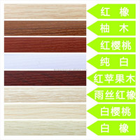 The factory supplies ABS edge band, transparent acrylic, PVC edge banding