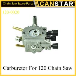 High Performance Adjusting Garden tool Chain Saw Spare Parts 120-0020 Carburetor