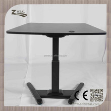 new design intelligent electric height adjustable school metal table legs and chair