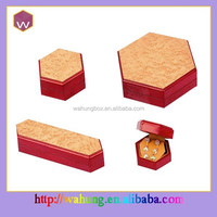 Unique design wooden jewelry packaging