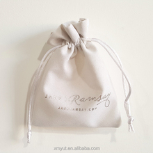 custom velvet drawstring jewellery pouch bag