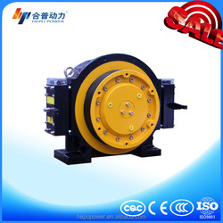 WTD1-B/Block Brake 630KG MR & MRL elevator gearless traction machine