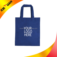 Non-woven recycling use foldable 100 promotional imprinted shopping bag