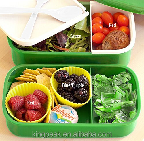 2015 hot sale plastic lunch bento box kids lunch box container for food with. Black Bedroom Furniture Sets. Home Design Ideas