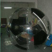 HOT!!! sale popular new design football water walking ball/water toys/water ball