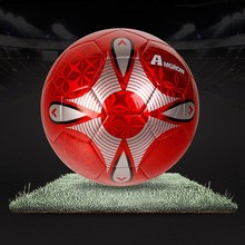 Different Size Training sports goods,shiny synthetic soccer ball