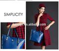 2015 más de moda de europa estilo de las mujeres de lujo de piel de serpiente bolsos bolsos de mano