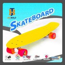 "Fashion Model 4 Wheel PU Material 28*8"" Plastic Deck Wholesale Blank Penny Skateboard"