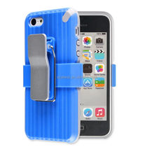 Super quality unique silicon and pc hard case for iphone 5