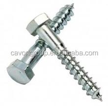 Hexagonal lag tornillo entrenador tornillo DIN571 / madera / lag tornillos