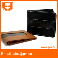 New design durable genuine leather rfid wallet with rfid blocking