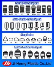 Plastic Parts for rectangular stock school bag