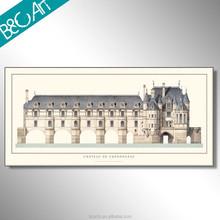 France chetear de chenonceau French famous building painting