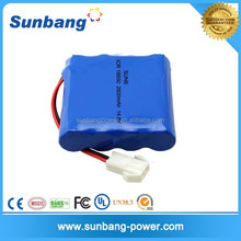 4S1P 14.8 2200mAh lithium ion battery pack 18650 li-ion best price rechargeable batteries battery 6 volt