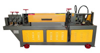 fully automatic hydraulic rebar straightener cutter machine, wire straightening and cutting