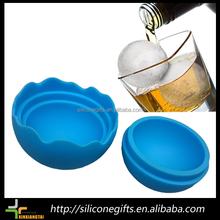 Estándar de la ue bap envío reutilizable de la bola de silicona del molde del hielo