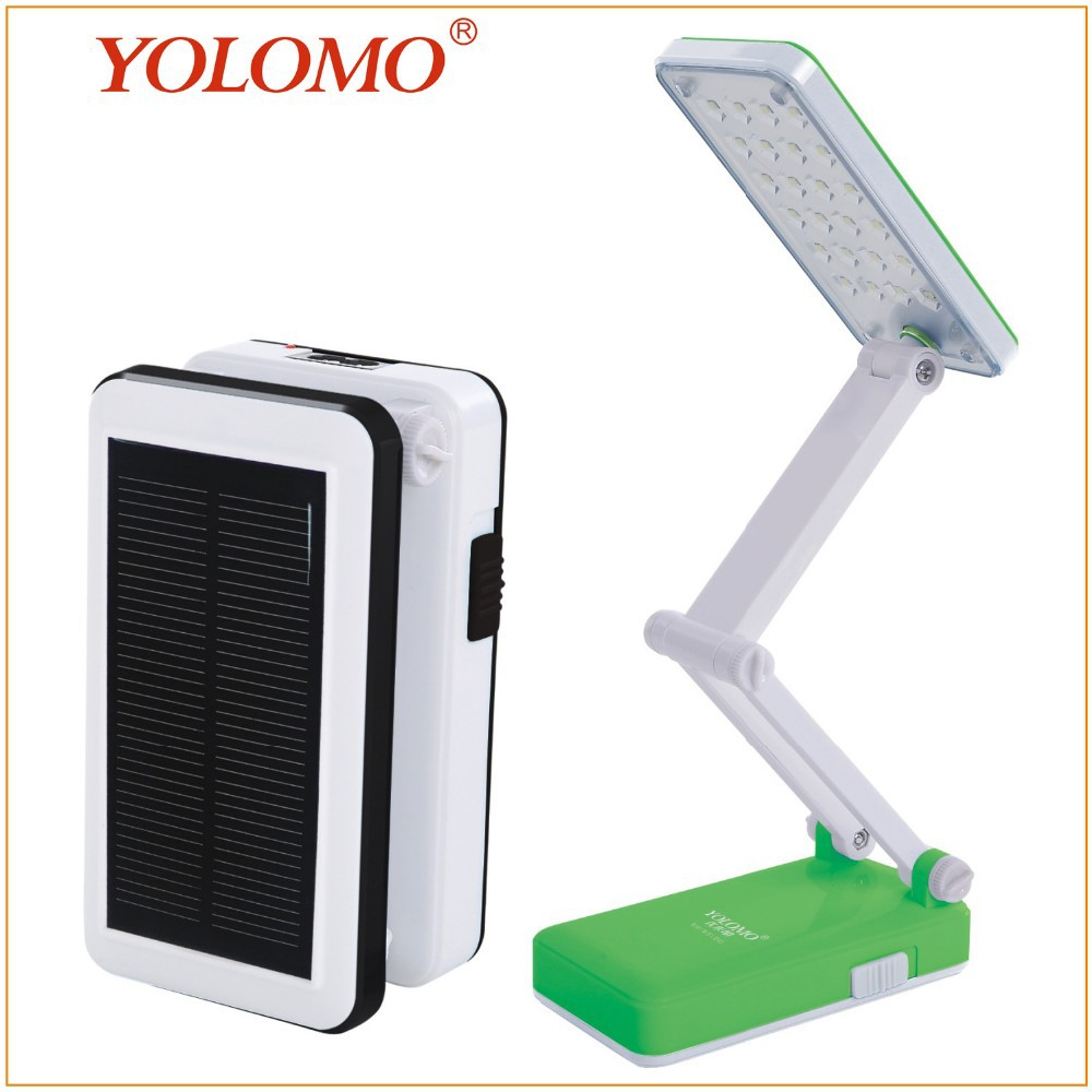 2015 Folding Lights Rechargeable Table Lamp Solar Desk