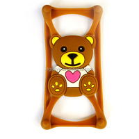 Funny DIY Silicone Bumper Case for Mobile Phone Universal Case , silicon universal mobilephone frame