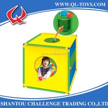 Hot Selling Kid Toys Children Play Tent With Play Ball And Basket Hoop