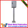 Waterproof durable outdoor metal battery charging cabinet