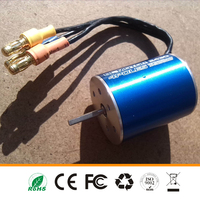 Mini dc electric brushless motor 2430 Max voltage 7.2V for RC small car made in china
