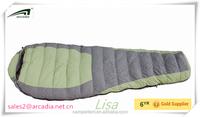 high quality portable duck camping sleeping bag