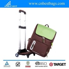 China alibaba golden supplier removeable kids trolley school bag