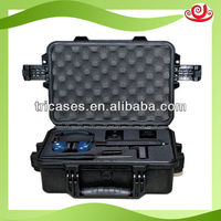 Hard plastic tool box for instrument and meter with foam