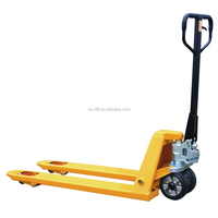 Hydraulic Hand Pallet Jack with galvanized hydraulic pump
