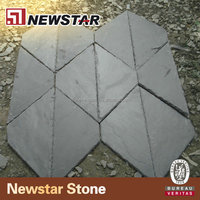 natural black slate roof tiles low price