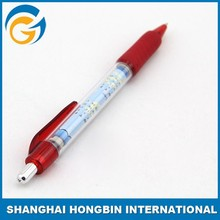 Fancy Bulk Plastic Banner Ballpoint Pen for Promotion