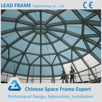 Long Span Steel Frame For Glass Roof