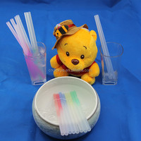 HOT!!! Color changing flavored pp drinking art straws