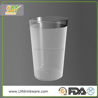 Good quality promotional unbreakable 270ML water beer pint glass