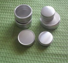 small aluminium round can tin