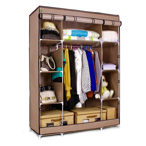 Wholesale s7 high quality cheap portable bedroom closet for Cheap bedroom cabinets