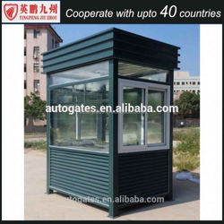 Free designed stainless steel parking mobile sentry box