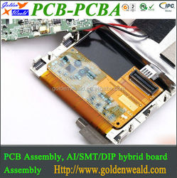 PCB Assembly with ENIG for Security Products OEM Turnkey PCB Assembly Service PCBA board