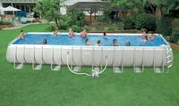 2015 Adult Hard Plastic pvc Swimming Pool, metal frame swimming pool