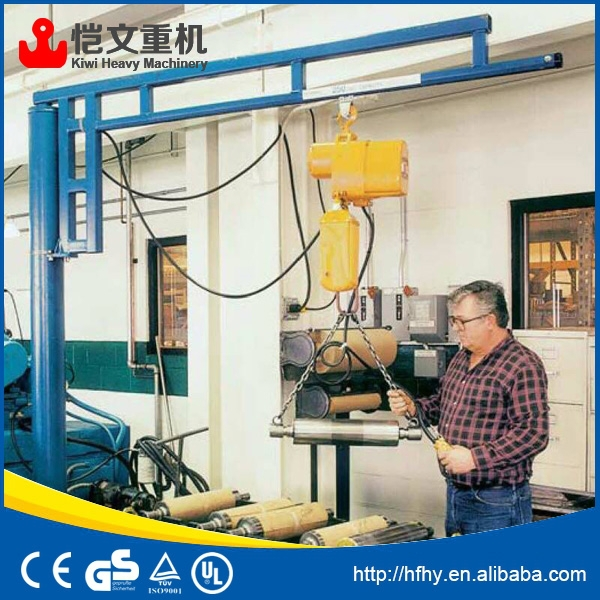 Jib Crane Maintenance : Hot sale slewing workstation jib crane for plant