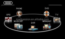 Car video interface for Audi A4, A5, Q5 during 2004-2013 without MMI
