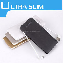 High Conversion Efficiency 8000mAh 2-Output Long Lasting Power Bank Charger