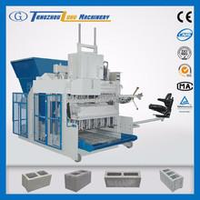 New technology !QMY18-15 concrete block and brick maker machine