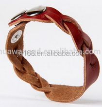 Colorful jewelry braided bracelets gifts supplier
