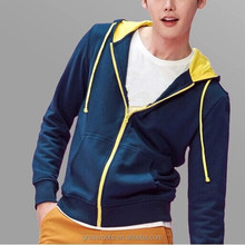 100% cotton mens french terry hoodies wholesale cheap plain hoodie manufacturers