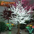 1536 led 2.5 m alta led azaléia luz da árvore / natal branco árvore de flores levaram