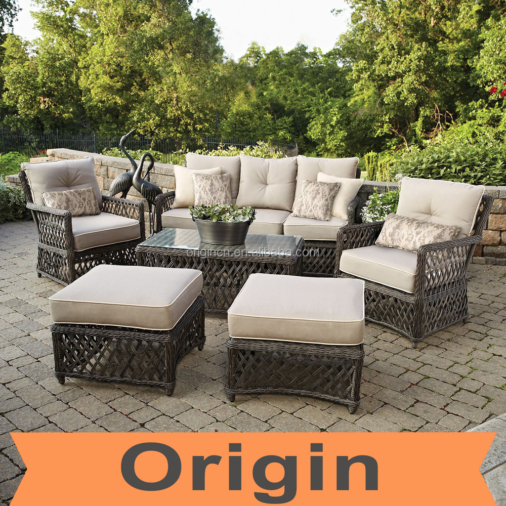 2016 Designer Stylist 6pc Casual Seating Set And Hand Woven Rattan Bulk Outdo