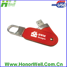Competive price high speed usb flash leather